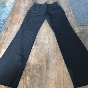 "Express ""ghost-stripe"" editor pants"